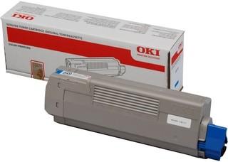 Originální toner OKI 44315307 azurový