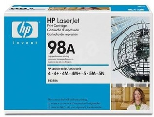 Originální toner HP 92298A (98A) OTEVŘENÁ KRABICE