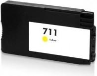 Kompatibilní inkoust s HP CZ132A (HP711XL) žlutý