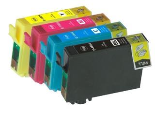 Kompatibilní inkousty s Epson T1815 černý, azurový, purpurový a žlutý