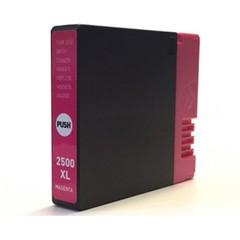 Kompatibilní inkoust s Canon PGI-2500XL M červený