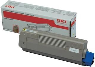 Originální toner OKI 44315305 žlutý