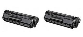 Kompatibilní toner s HP Q2612AD (12AD) Dvojbalení