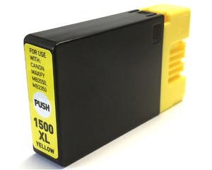 Kompatibilní inkoust s Canon PGI-1500XL Y žlutý