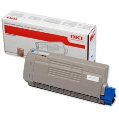 Originální toner OKI 44318607 modrý