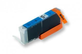 Kompatibilní inkoust s Canon CLI-571C XL modrý