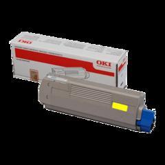 Originální toner OKI 42804537 žlutý XL