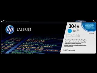 Originální toner HP CC531A (304A) modrý