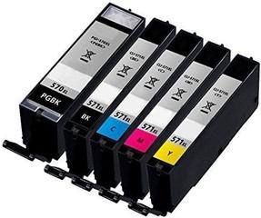 Kompatibilní inkousty s Canon PGI-570BK XL + CLI-571XL BK/C/M/Y