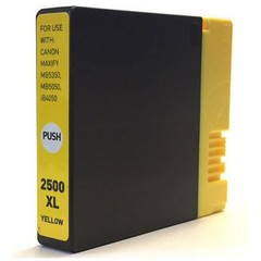 Kompatibilní inkoust s Canon PGI-2500XL Y žlutý
