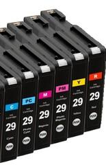 Kompatibilní inkousty s Canon PGI-29C/M/Y/PC/PM/R Multipack