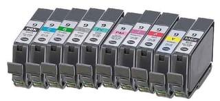Kompatibilní inkousty s Canon PGI-9PB/C/M/Y/PC/PM/R/G/GY/MB Multipack