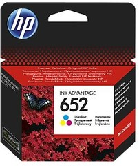 Originální inkoust HP 652 (F6V24AE) barevný