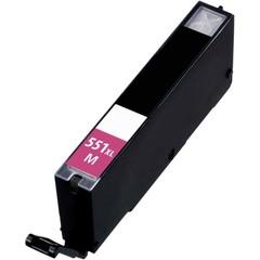 Kompatibilní inkoust s Canon CLI-551M XL červený