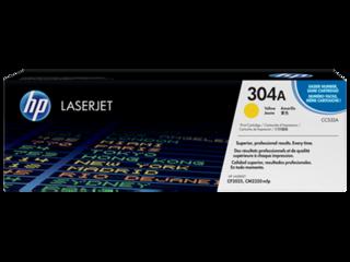 Originální toner HP CC532A (304A) žlutý