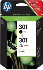 Originální inkoust HP 301 (N9J72AE) černý+barevný, 2-Pack
