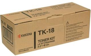 Originální toner Kyocera Mita TK-18, černý