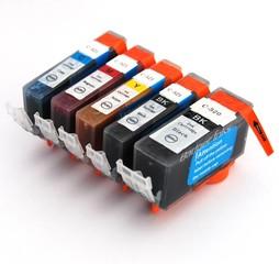 Kompatibilní inkousty s Canon CLI-521 CMYK + PGI-520BK