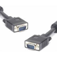 Kabel k monitoru SVGA, 15M/15M, 3m, feeritové stínění