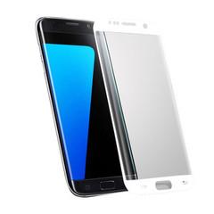 Plastová fólie na Samsung Galaxy S7 Edge - bílá
