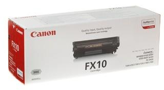 Originální toner Canon FX-10Bk (0263B002), černý