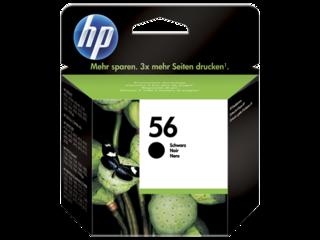 Originální inkoust HP C6656AE (HP56) černý