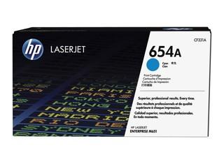 Originální toner HP CF331A (654A) azurový