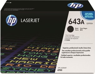 Originální toner HP Q5950A (643A) černý