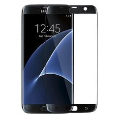 Plastová fólie na Samsung Galaxy S7 Edge - černá