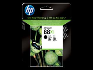 Originální inkoust HP C9396AE (HP88XL) černý - POŠKOZENÝ OBAL