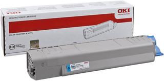 Originální toner OKI 44059167 azurový