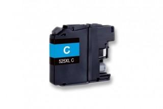 Kompatibilní inkoust s Brother LC-525XL azurový
