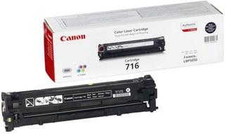 Originální toner Canon CRG-716Bk (1980B002), černý