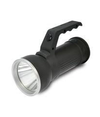 Solight LED svítilna 2v1, 3W Cree + 6x SMD LED, černá, 3 x AA, WL102