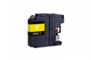 Kompatibilní inkoust s Brother LC-525XL žlutý