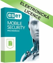 ESET Mobile Security 3 licence na 1 rok, EMAV003N1