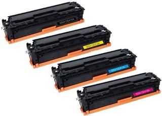 Kompatibilní tonery s HP CE410X, CE411A, CE412A, CE413A - CMYK