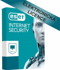 ESET Internet Security 2 licence na 2 roky, ESS002N2