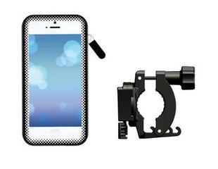 Clingo ClickGo držák na kolo pro telefony do 5,7'', CG-07390