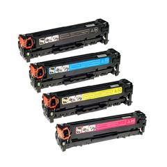 Kompatibilní tonery s HP CC530A, CC531A, CC532A, CC533A - CMYK