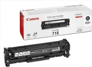 Originální toner Canon CRG-718BK černý (2662B002)