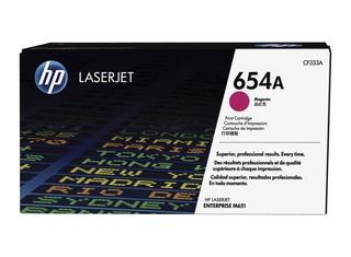 Originální toner HP CF333A (654A) purpurový