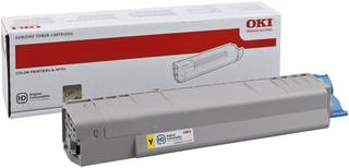 Originální toner OKI 44059165 žlutý