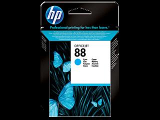 Originální inkoust HP C9386AE (HP88) azurový - POŠKOZENÝ OBAL