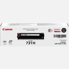 Originální toner Canon CRG-731H BK černý (6273B002)