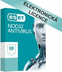 ESET NOD32 Antivirus 3 licence na 2 roky, EAV003N2