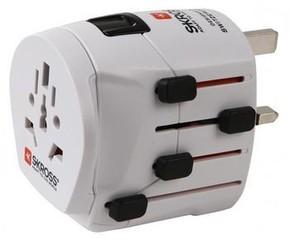 Cestovní adaptér SKROSS World Pro+, 10A max. , uzemněný, vč. adaptéru, pro celý svět, PA40