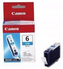 Originální inkoust Canon BCI-6C (4706A002), azurová