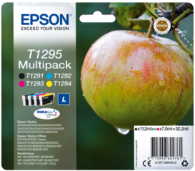 Originální inkousty Epson T1295, C13T12954012, multipack