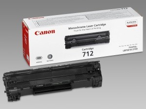 Originální toner Canon CRG-712Bk (1870B002), černý
